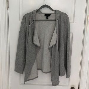 Woman's sweatshirt jacket